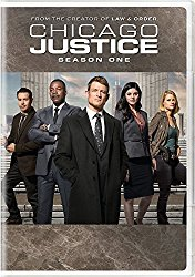 CHICAGO JUSTICE SEASON ONE Blu-ray Cover