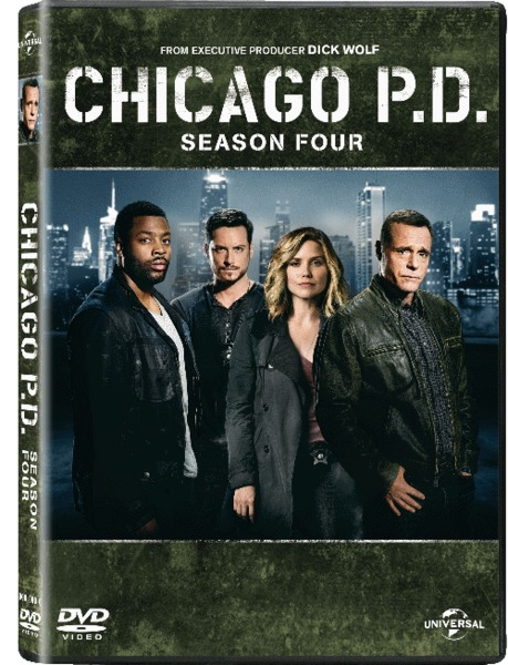 CHICAGO P.D. Season Four Blu-ray Cover