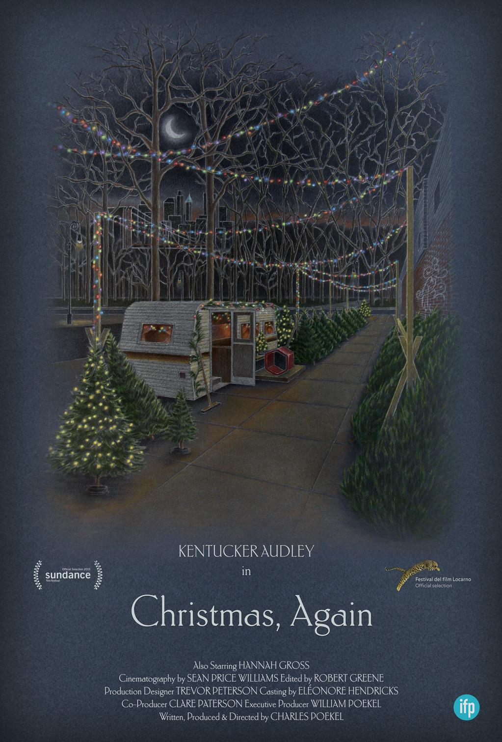 CHRISTMAS,  AGAIN Release Poster