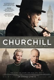 CHURCHILL Release Poster