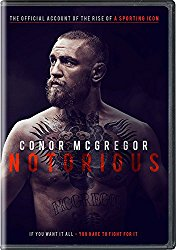 CONOR MCGREGOR NOTORIOUS Blu-ray Cover