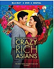 CRAZY RICH ASIANS Blu-ray Cover