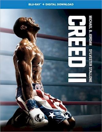 CREED 2 Blu-ray Cover