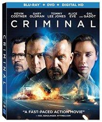 CRIMINAL Release Poster