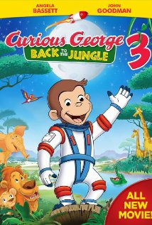 Curious George Back to the Jungle 3 DVD