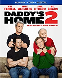 DADDY'S HOME 2 Blu-ray Cover