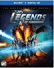DC's LEGENDS OF TOMORROW SEASON ONE Blu-ray Cover