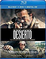 DESIERTO Blu-ray Cover