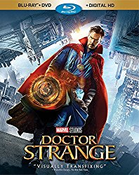DOCTOR STRANGE Blu-ray Cover