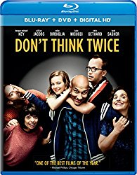 DON'T THINK TWICE Blu-ray Cover