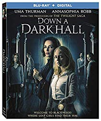 DOWN A DARK HALL Release Poster