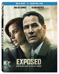 EXPOSED Blu-ray Cover