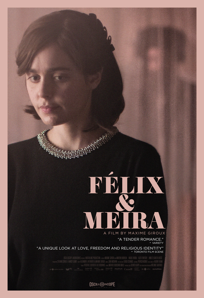 FELIX AND MEIRA Movie Poster