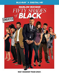 FIFTY SHADES OF BLACK Blu-ray Cover