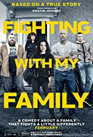 FIGHTING WITH MY FAMILY Release Poster