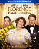 FLORENCE FOSTER JENKINS Blu-ray Cover