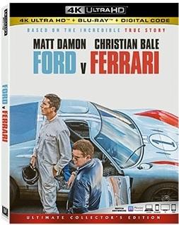 FORD v FERRARI Release Poster