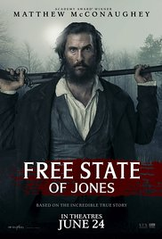 FREE STATE JONES Release Poster