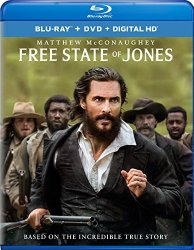 FREE STATE OF JONES Blu-ray Cover
