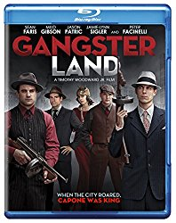 GANGSTER LAND Blu-ray Cover