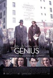 GENIUS Release Poster