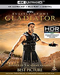 Gladiator 4k Blu-ray Cover