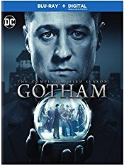 GOTHAM SEASON THREE Blu-ray Cover