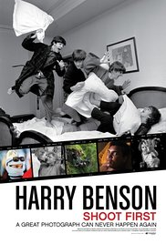HARRY BENSON: SHOOT FIRST Release Poster