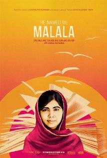 HE NAMED ME MALALA Release Poster