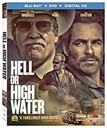 HELL OR HIGH WATER Blu-ray Cover