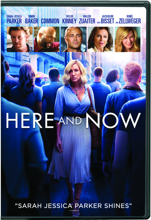 HERE AND NOW Blu-ray Cover