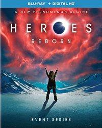HEROES REBORN Blu-ray Cover