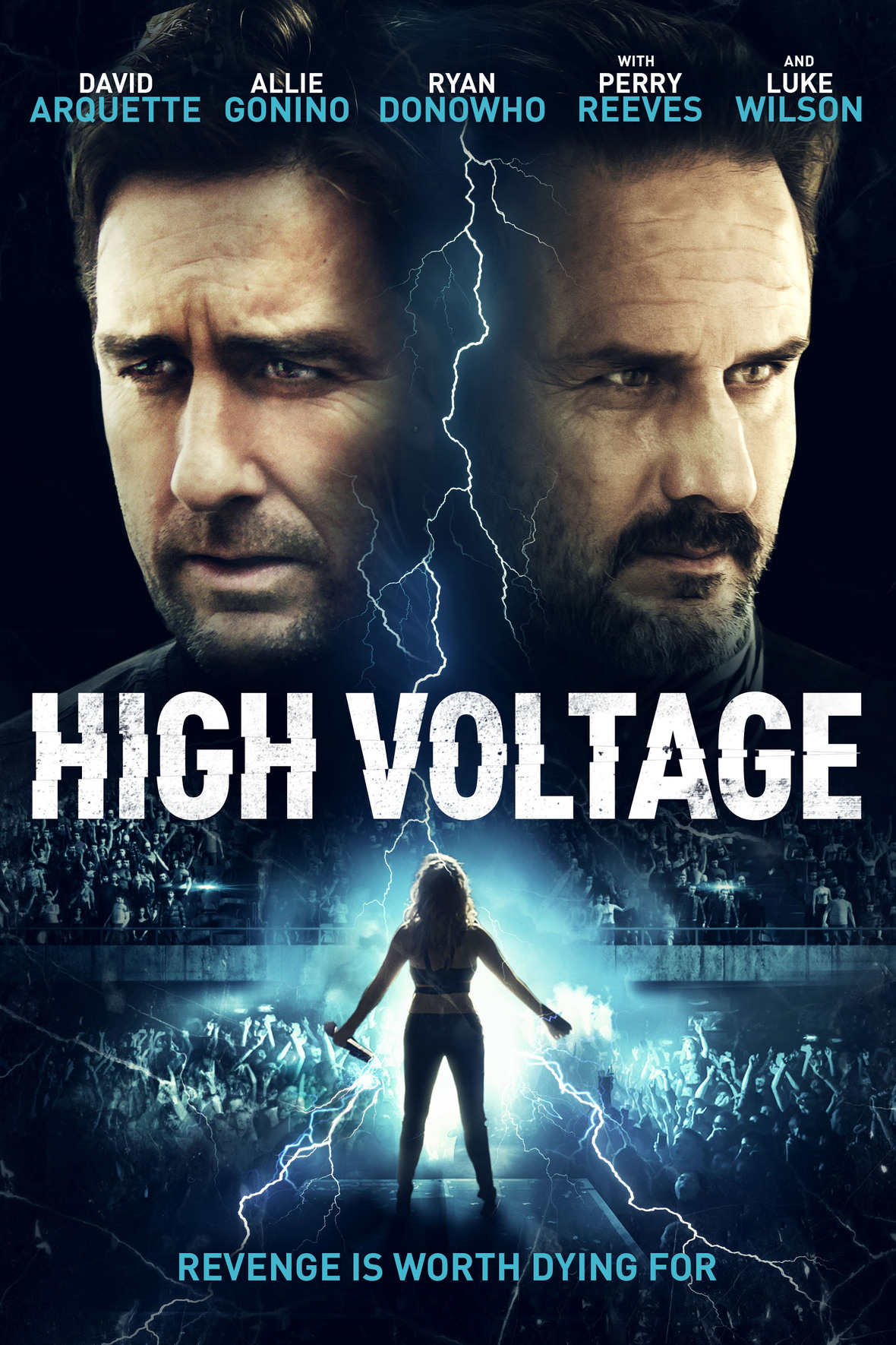 HIGH VOLTAGE Release Poster
