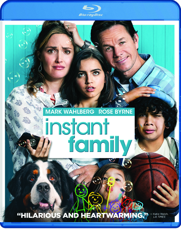 INSTANT FAMILY Blu-ray Cover