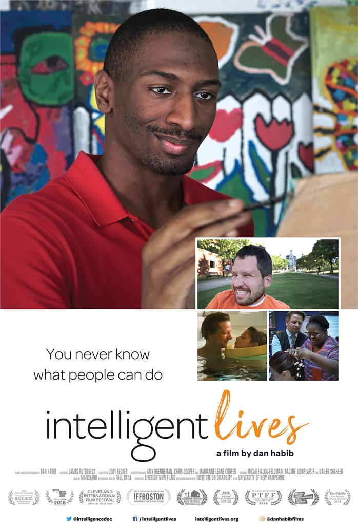 INTELLIGENT LIVES Release Poster