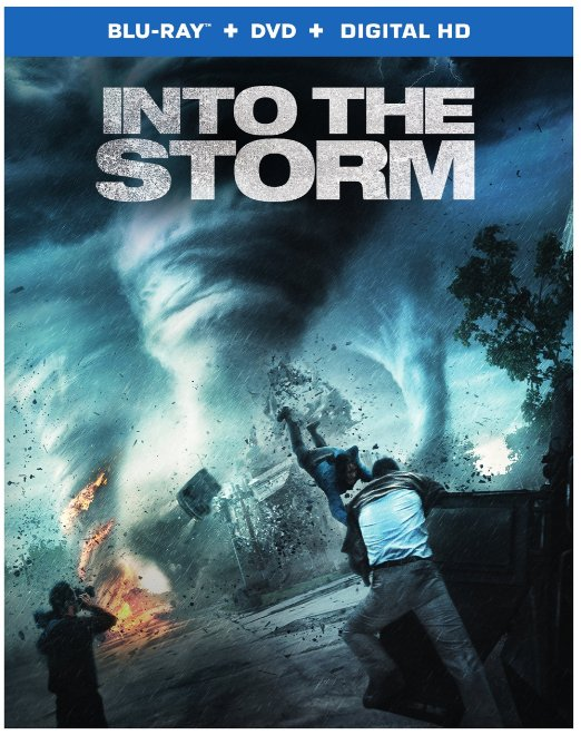 Into the Storm Blu-ray