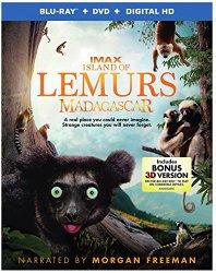 Island of Lemurs: Madagascar (Blu-ray + DVD + Digital HD UltraViolet Combo Pack With Bonus Blu-ray 3D)