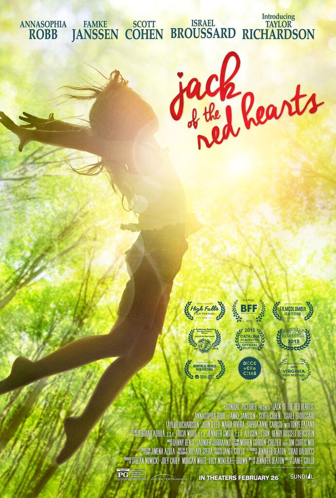 JACK OF THE RED HEARTS  Release Poster