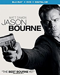 JASON BOURNE Blu-ray Cover