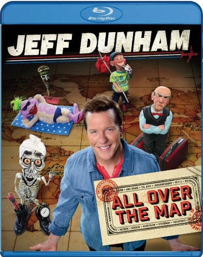 Jeff Dunham All Over The Map Blu-ray