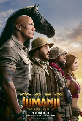 JUMANJI: THE NEXT LEVEL Release Poster