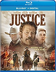 JUSTICE Blu-ray Cover