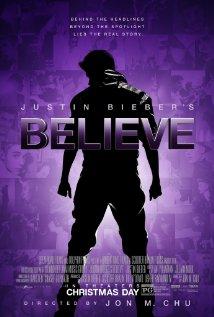Justin Biever's Believe Movie Poster