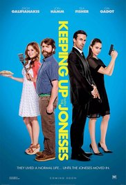 KEEPING UP WITH THE JONESES Release Poster