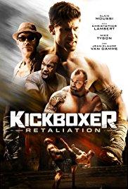 KICKBOXER: RETALIATION Release Poster