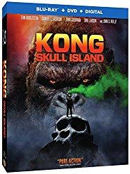 KONG SKULL ISLAND Blu-ray Cover