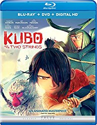 KUBO AND THE TWO STRINGS Blu-ray Cover