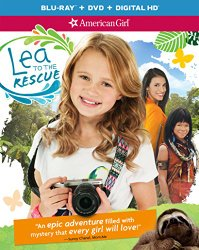 AMERICAN GIRL: LEA TO THE RESCUE Blu-ray Cover