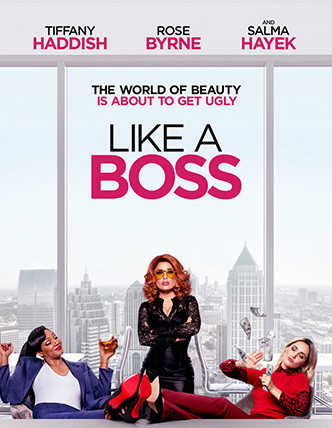 LIKE A BOSS Release Poster