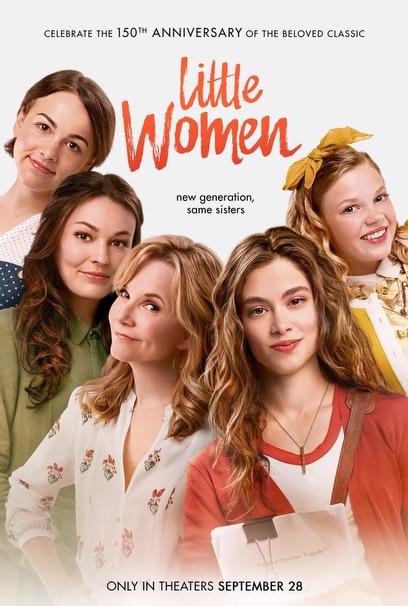 LITTLE WOMEN Release Poster